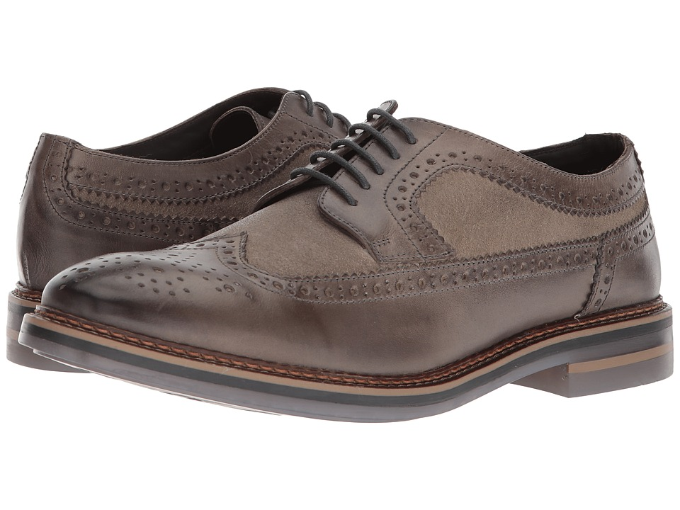 Image of Base London - Turner (Grey) Men's Lace up casual Shoes