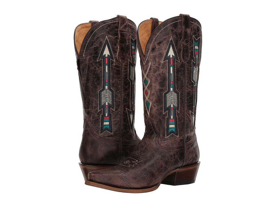 Roper Arrows Wonderfit (Brown Vamp) Cowboy Boots