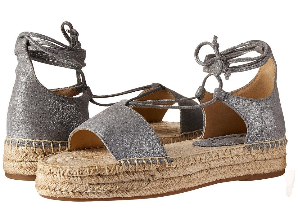 Splendid Fernanda (Silver Metallic Suede) Women's Shoes