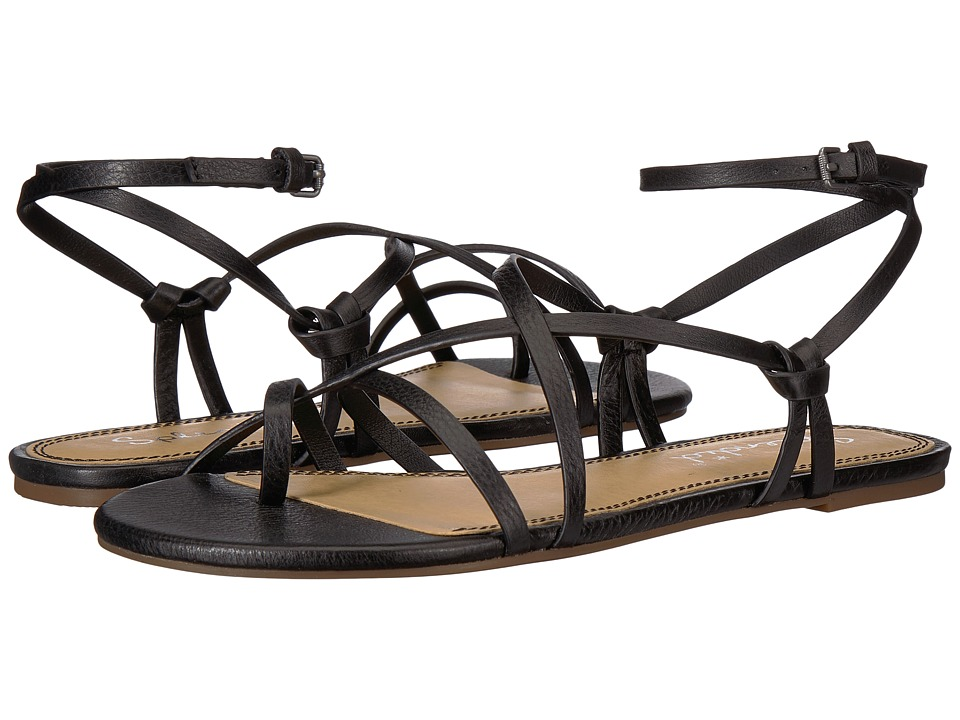Splendid Flynn (Black Leather) Women's Shoes
