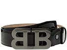Bally Mirror B Adjustable Patent Leather Belt