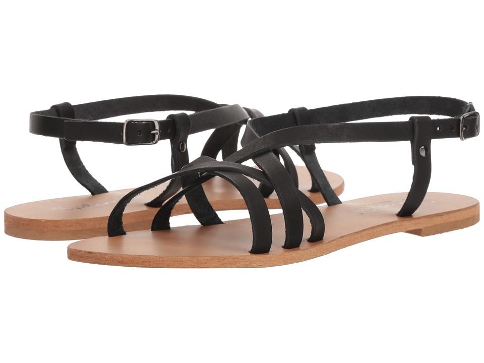 Splendid Bowen (Black Leather) Women's Shoes