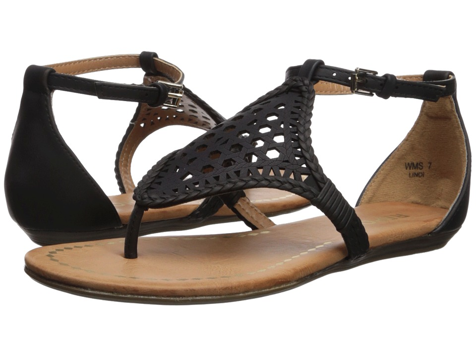 Report - Lindi (Black) Womens Shoes