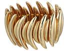 Robert Lee Morris Gold Curved Stretch Bracelet