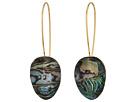 Robert Lee Morris Abalone and Gold Shepherd Hook Earrings