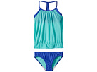 Speedo Kids Blouson Tankini Two-Piece Swimsuit Set (Big Kids)