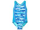 Speedo Kids Tie-Dye Sky Sport Splice One-Piece Swimsuit (Little Kids)