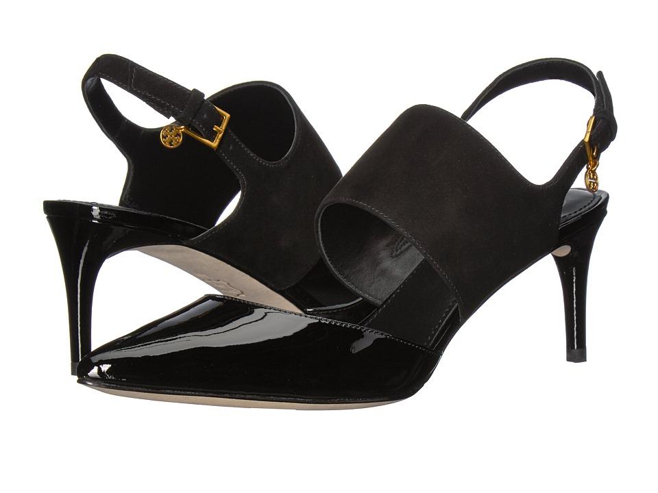 Tory Burch - Ashton 65mm Heel (Black/Black) Women's Sandals