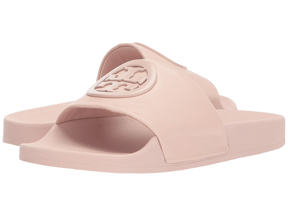 Tory Burch Lina Slide Sandal (Shell Pink) Women's Shoes