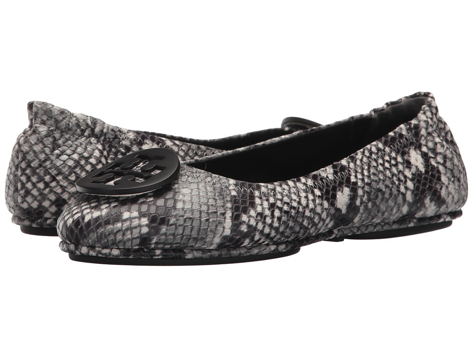 Tory Burch Minnie Travel Ballet Flat (Roccia) Women's Shoes