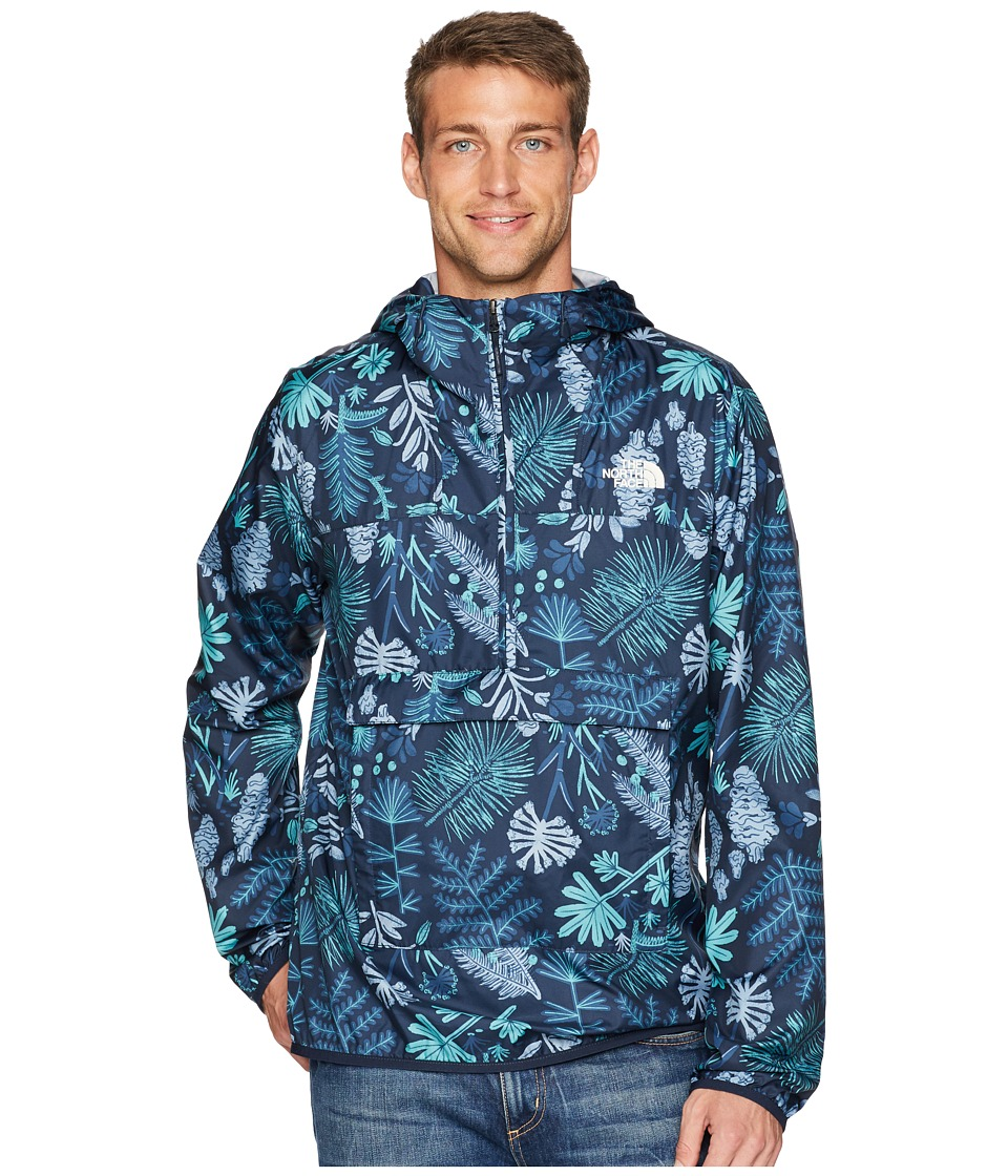 The North Face Fanorak (Urban Navy Woodland Floral Print) Men