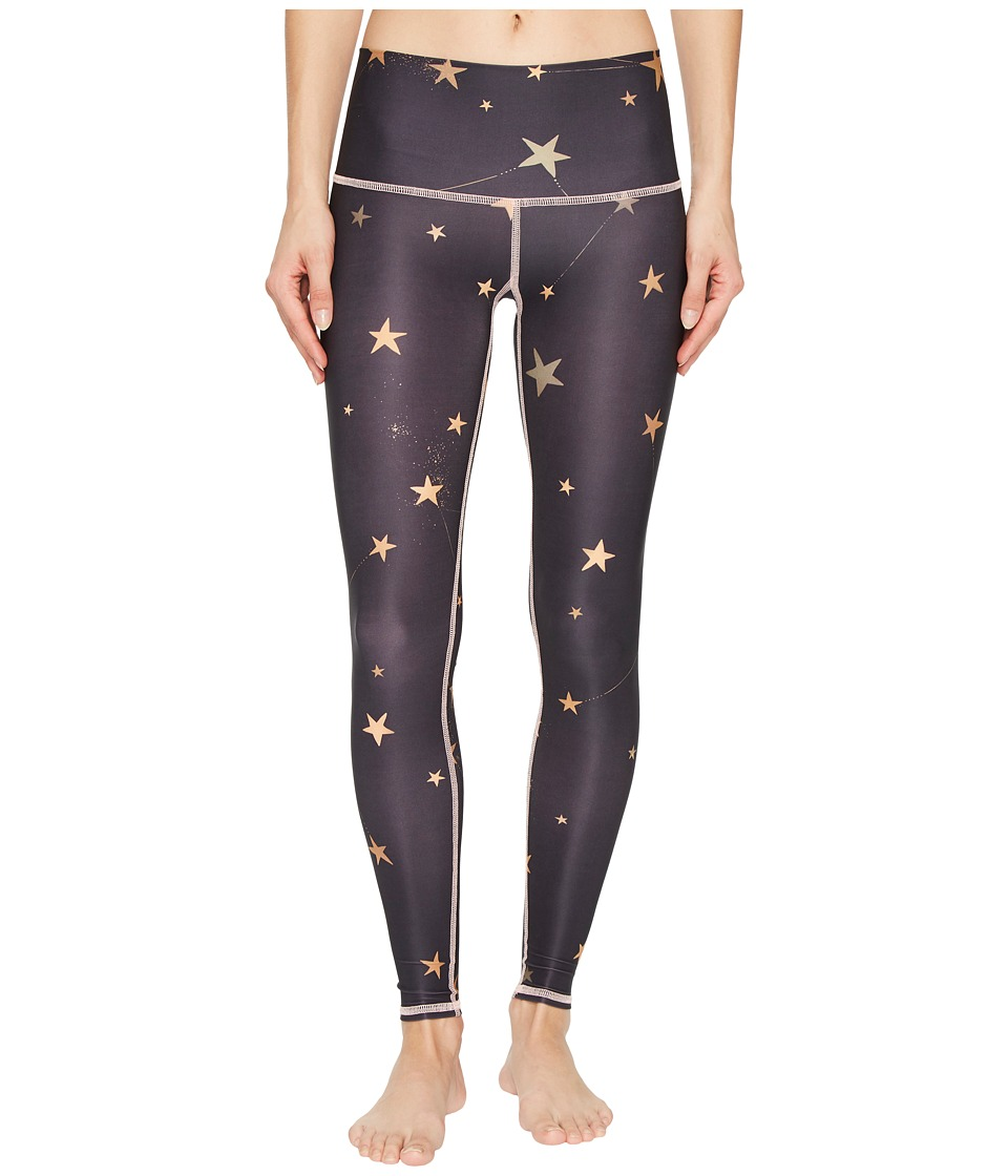 teeki - Great Star Nation Black Hot Pants