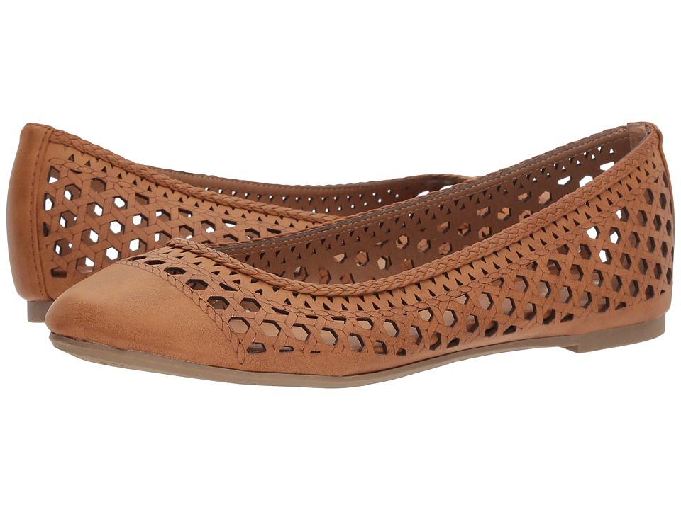 Report - Madella (Dark Tan) Womens Shoes