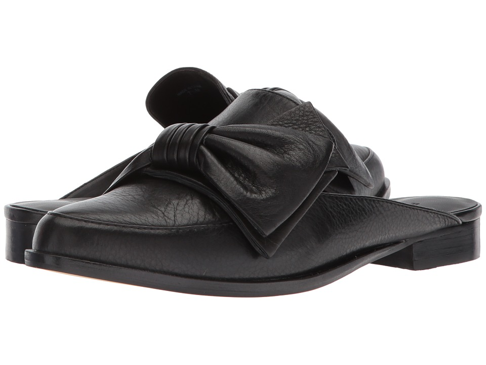 Rebecca Minkoff - Mabel (Black Lamba) Womens Clog/Mule Shoes