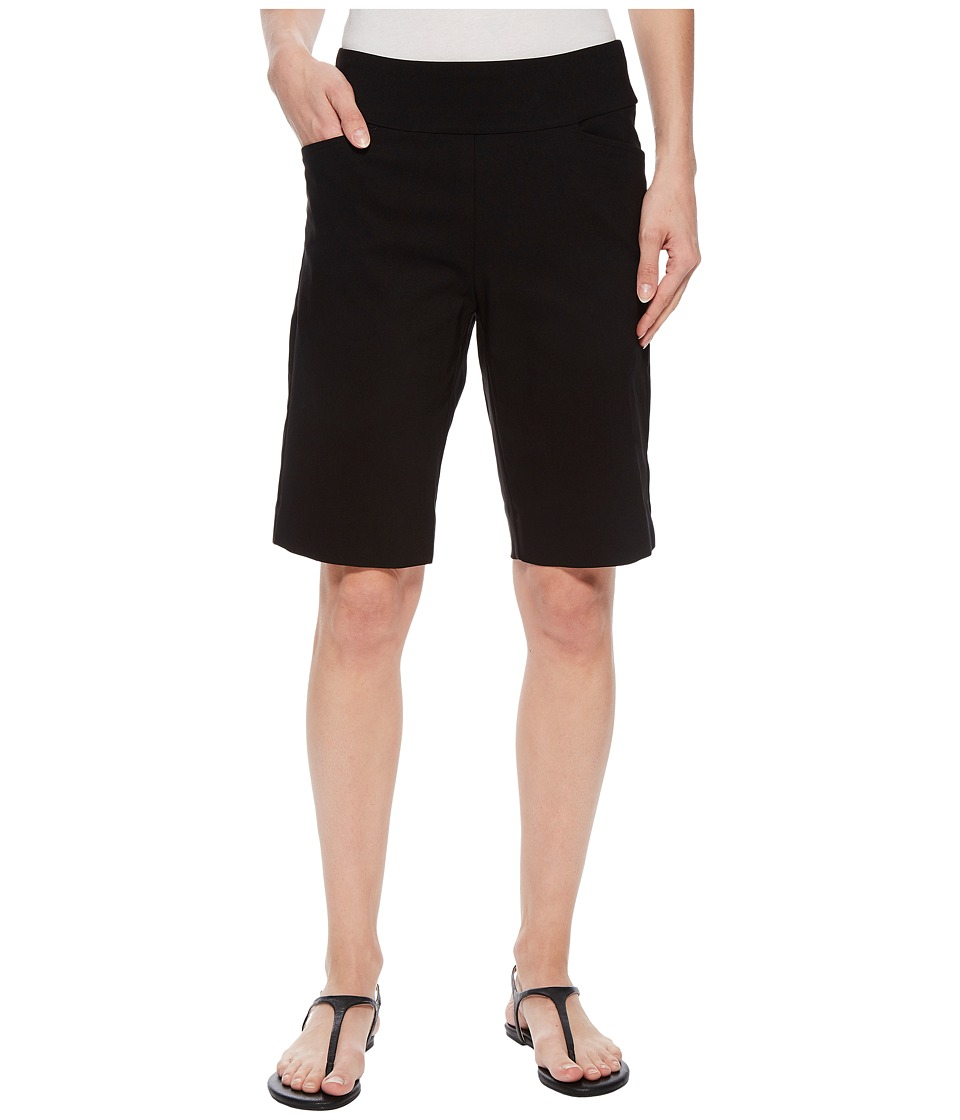 Krazy Larry - Pull-On Golf Shorts (Black) Womens Shorts