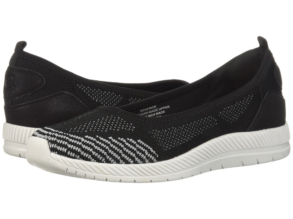Easy Spirit - Geinee (Black/Vapor/Black/Black) Womens Shoes