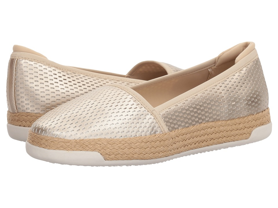 Easy Spirit - Portnia 3 (Champagne/Champagne/Champagne) Womens Shoes