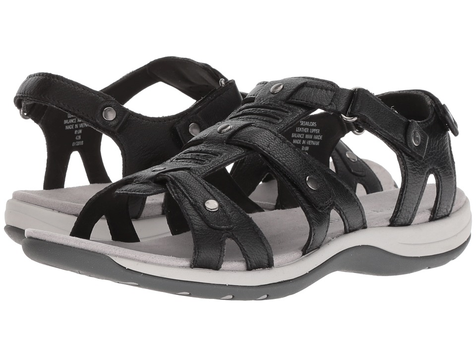 Easy Spirit - Sailors (Black/Black) Womens Shoes