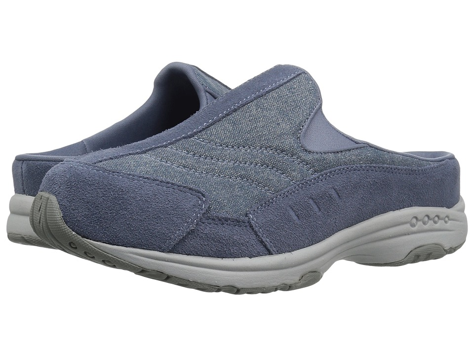 Easy Spirit - Traveltime 303 (Flint Stone/Blue) Womens Shoes