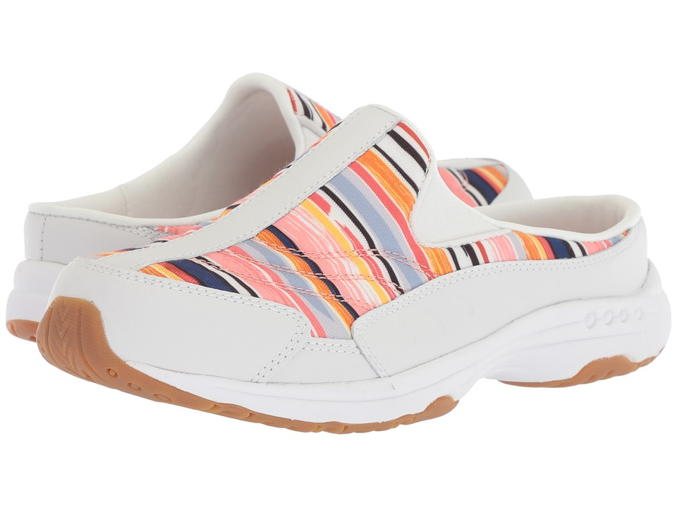 Easy Spirit - Traveltime 295 (Porcelain/Coral Multi) Womens Shoes