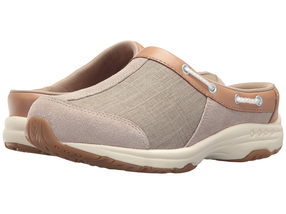 Easy Spirit - Travelport (Sand/Native Tan/Sand) Womens Slip on  Shoes