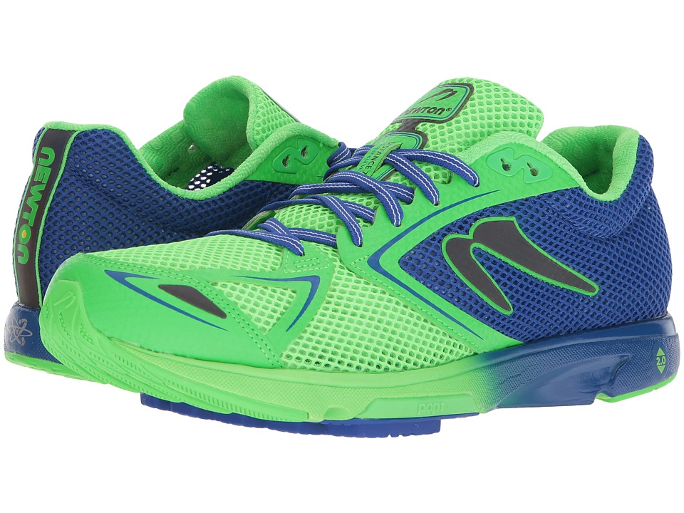 Newton Running - Distance 7 (Blue/Lime) Mens Running Shoes