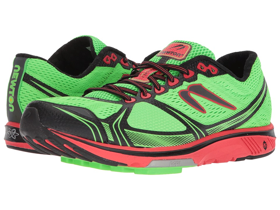Newton Running - Motion 7 (Lime/Red) Mens Running Shoes