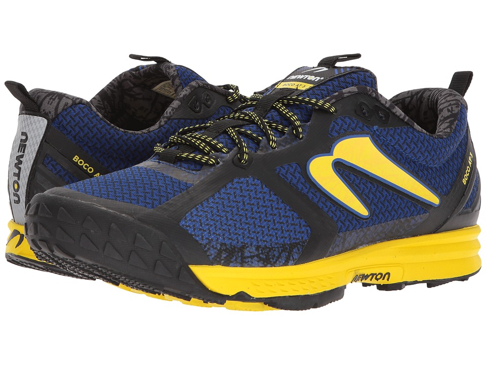 Newton Running - Boco 3 (Blue/Maize) Mens Running Shoes