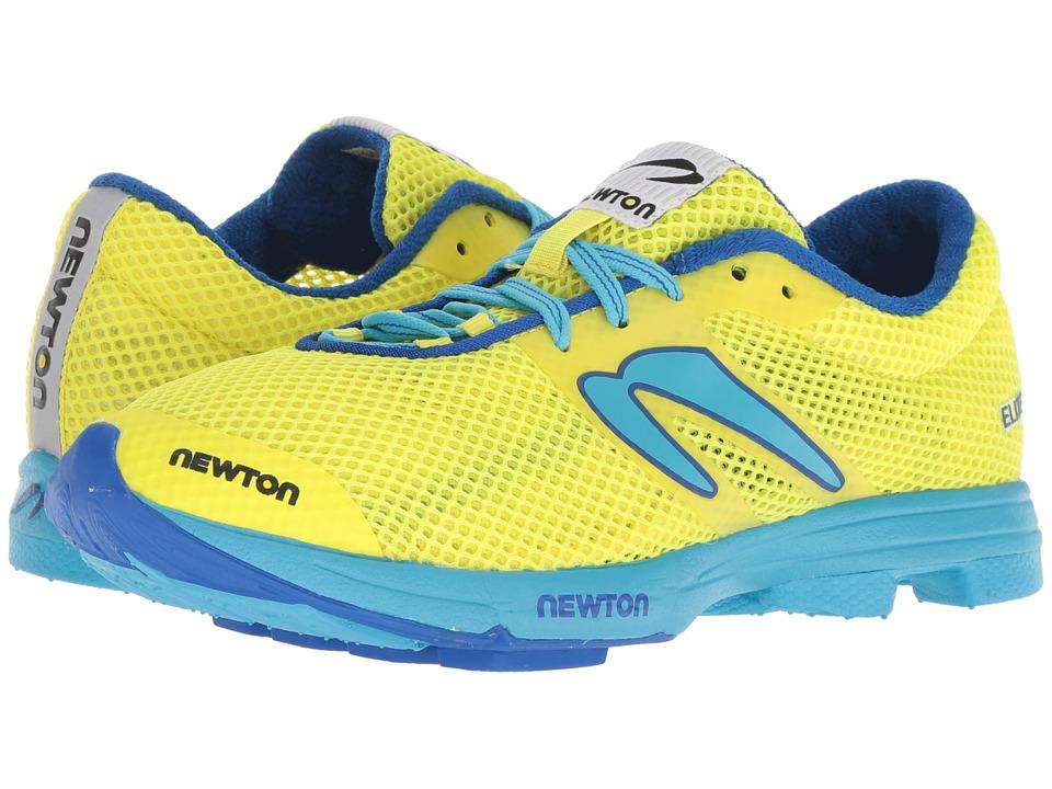 Newton Running Distance Elite (Neon Yellow/Blue) Women's Running Shoes