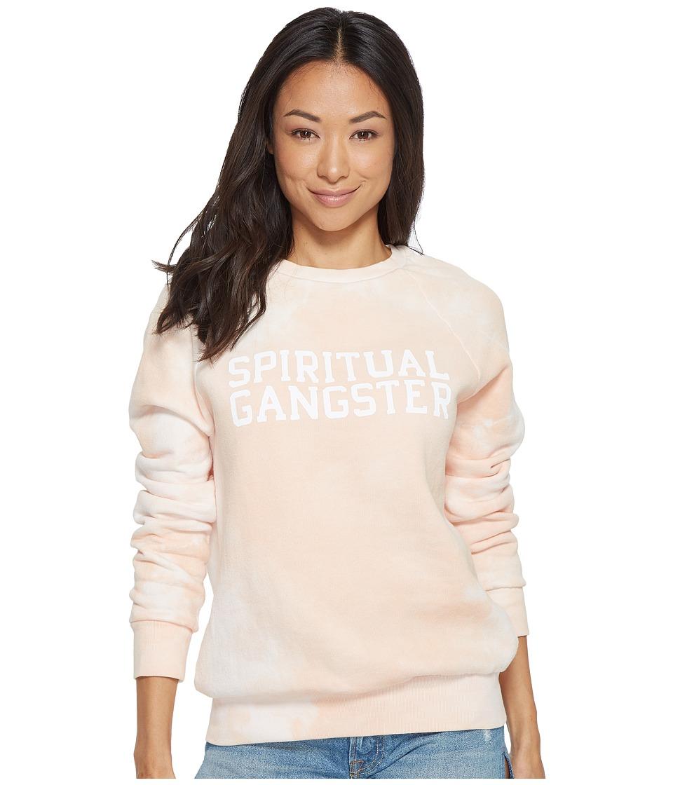 Spiritual Gangster SG Varsity Long Sleeve Top (Petal) Women