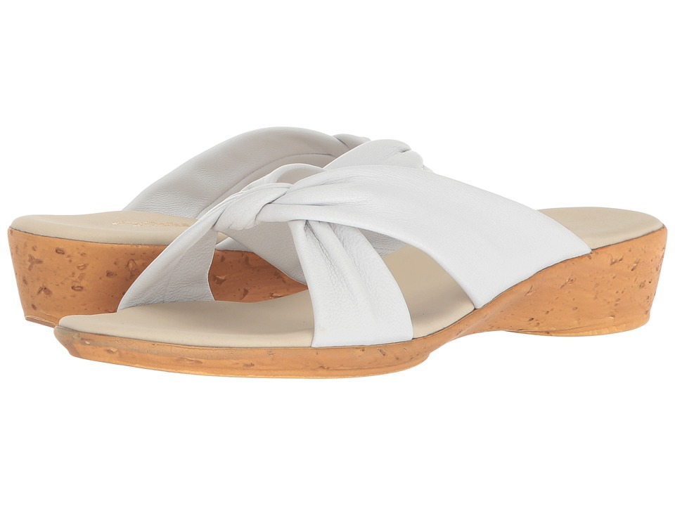 Onex Ana (White Leather) Sandals