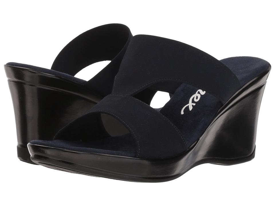 Onex Gabi-N (Navy Elastic) Sandals