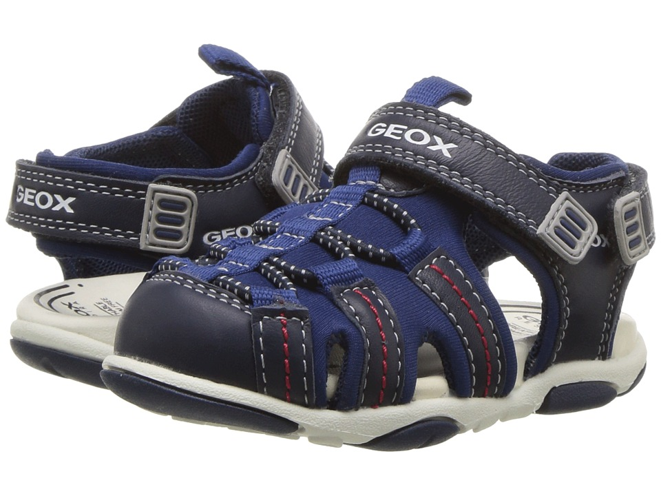 Geox Kids - Agasim 4 (Toddler) (Navy) Boys Shoes