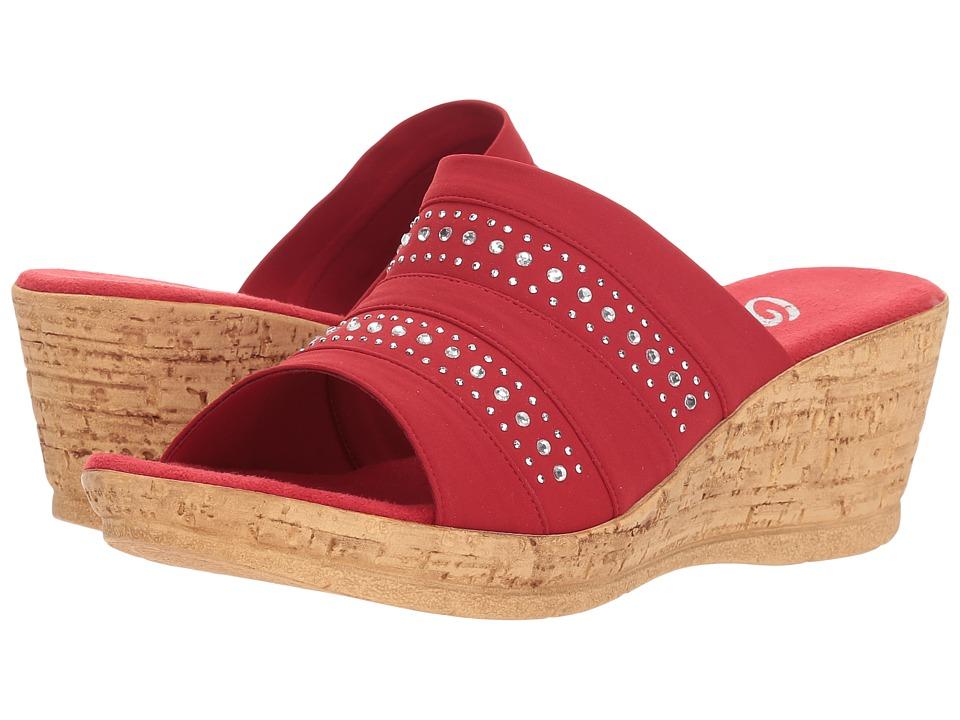 Onex Sadi (Red) Sandals