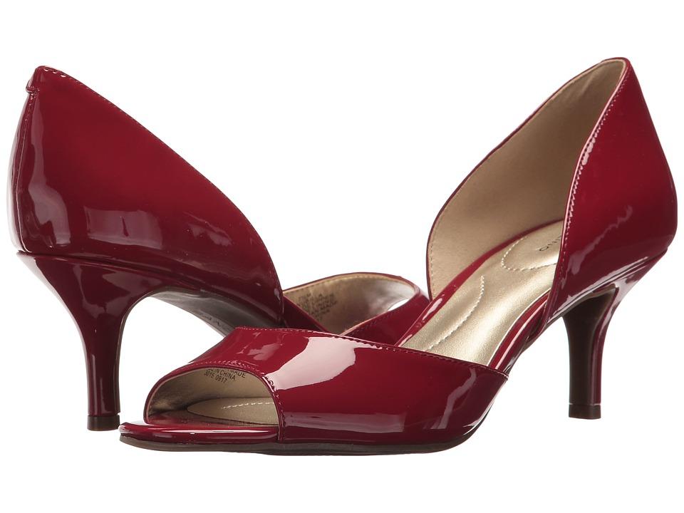 Bandolino Nubilla (Rossy Red Patent) Women