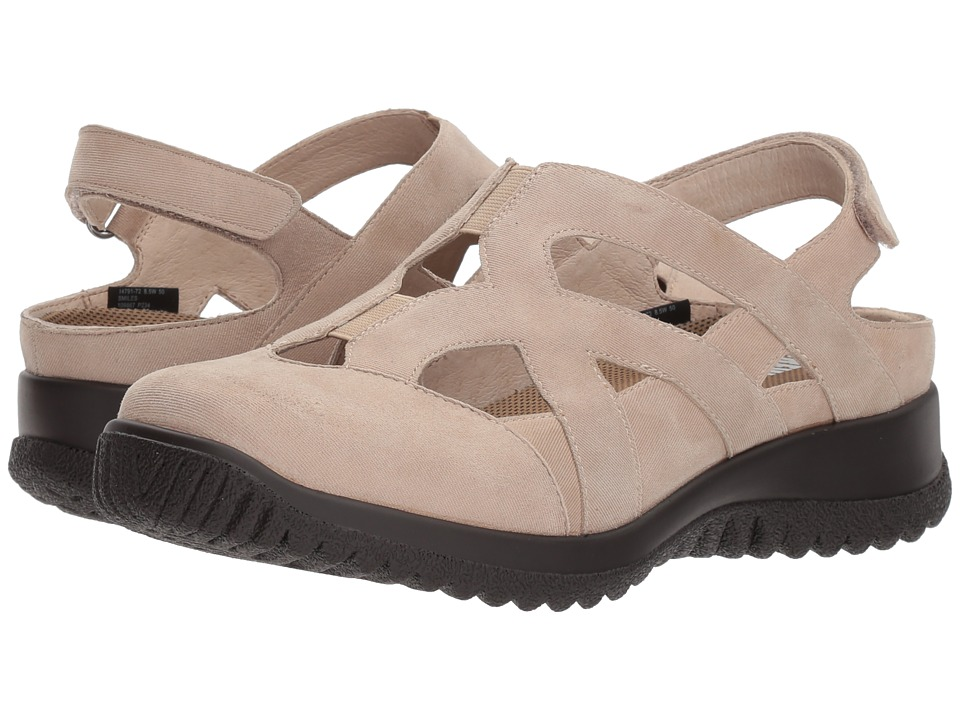 Drew Smiles (Taupe Microdot) Women's Shoes