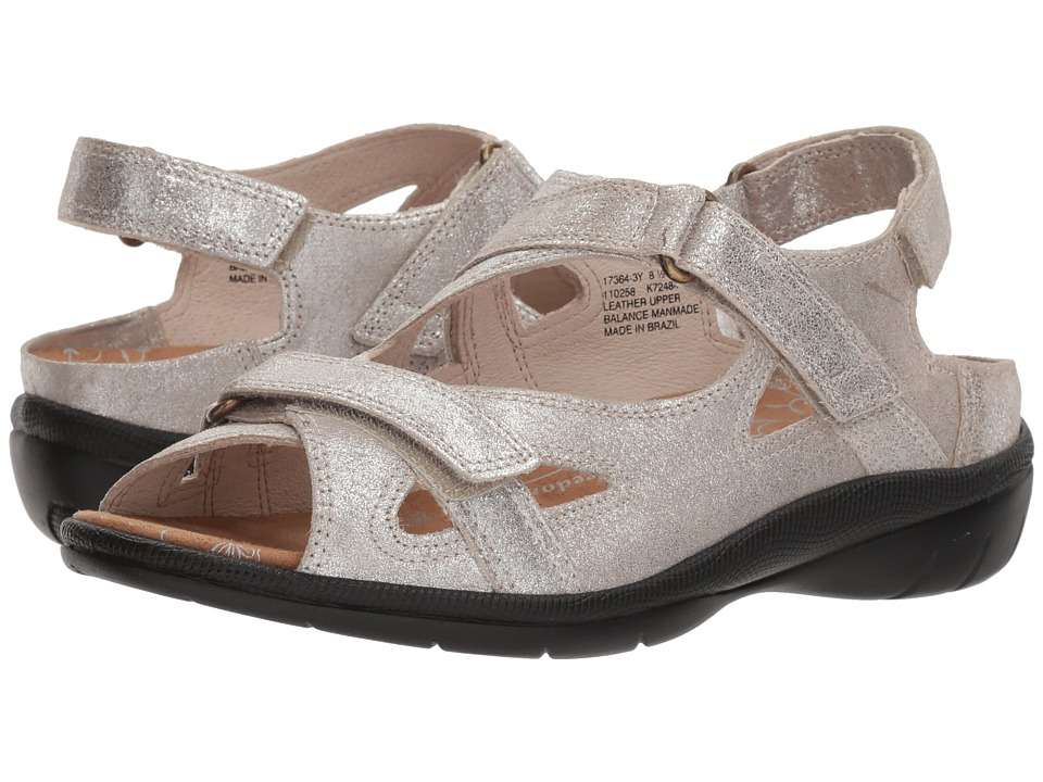 Drew Lagoon (Champagne Dusty Leather) Women's Shoes