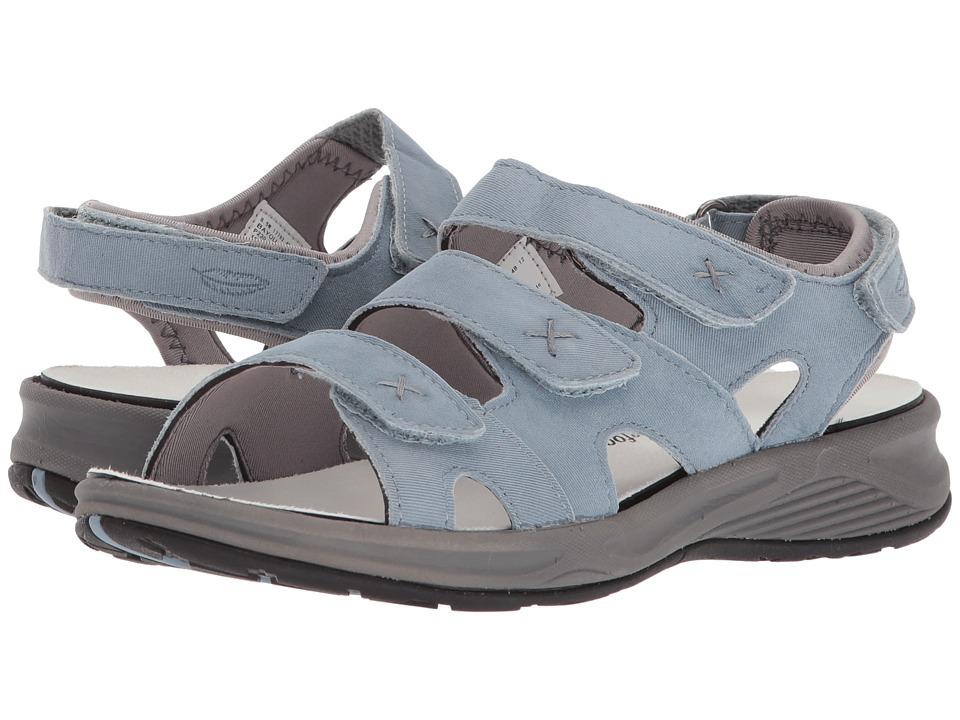 Drew Bayou (Light Blue Microdot) Women's Shoes