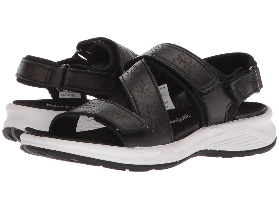 Drew Olympia (Black Pearlized Sheepskin) Women's Shoes