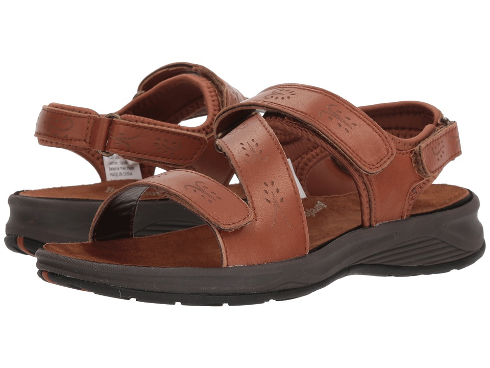 Drew Olympia (Cognac Leather) Women's Shoes