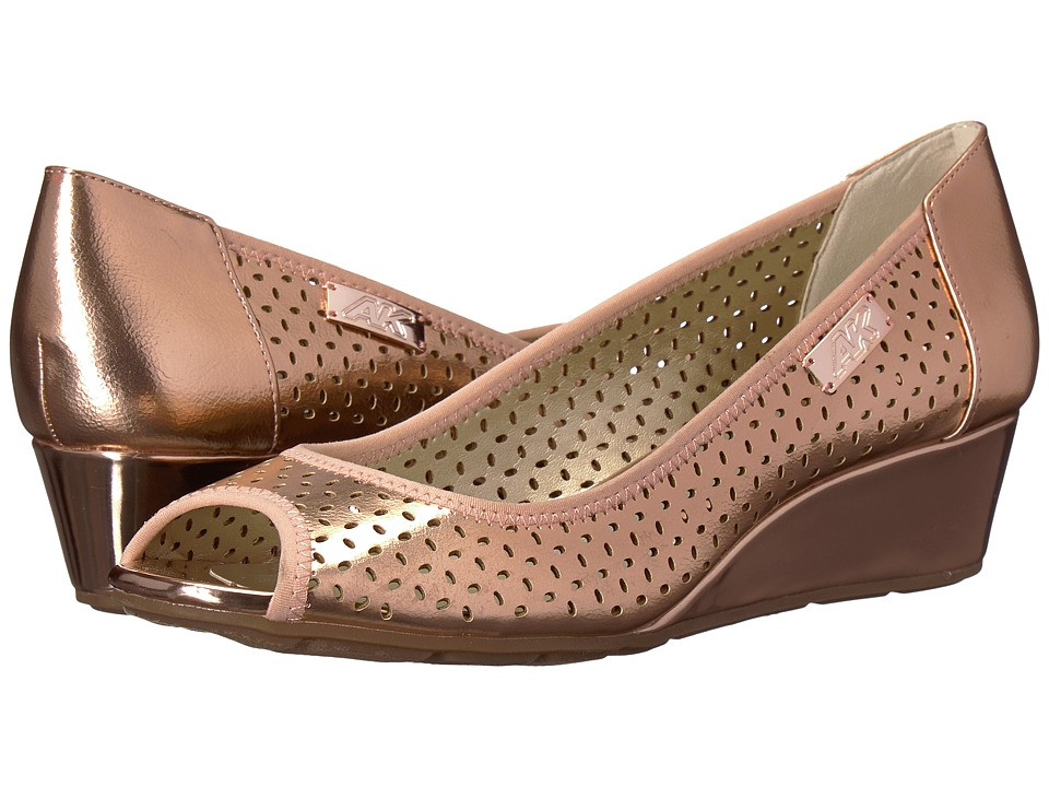 Anne Klein Cadwyn (Light Pink/Light Pink) Wedges