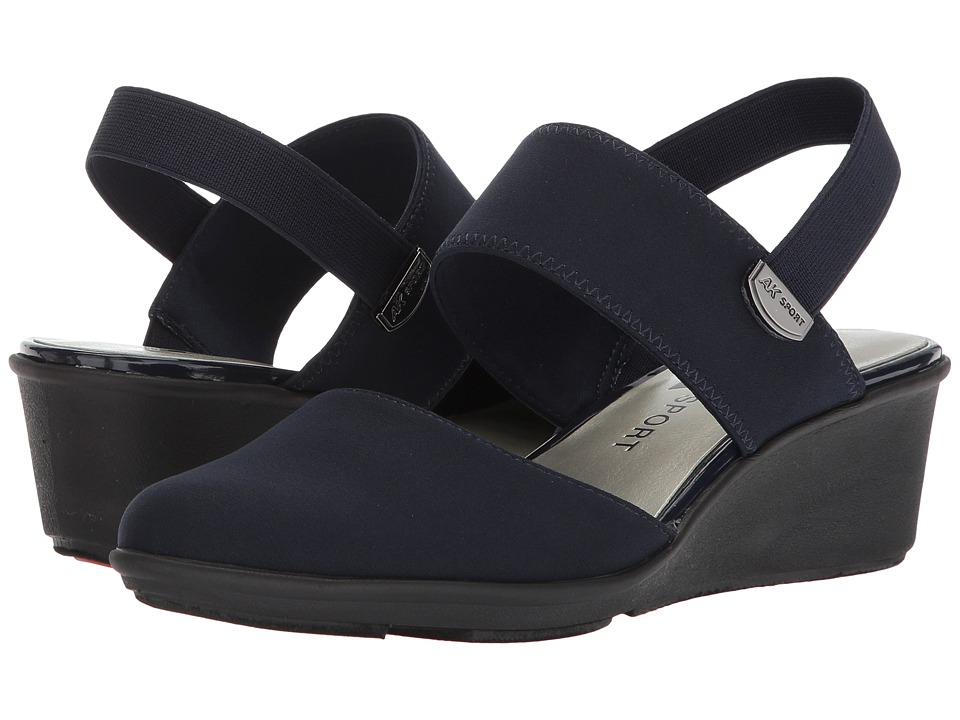 Anne Klein - Clever (Navy/Navy) Womens Shoes
