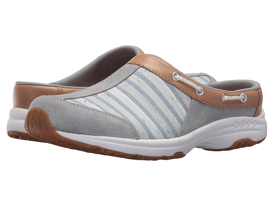 Easy Spirit - Travelport 22 (Light Blue/Native Tan/Blue Multi) Womens Shoes
