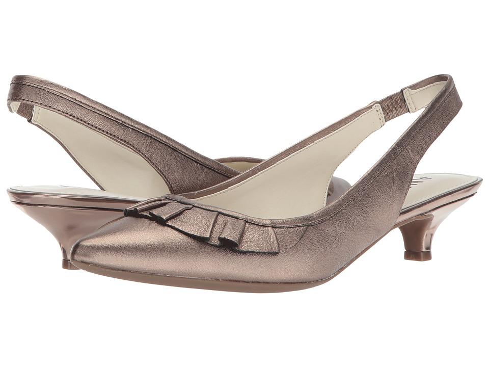 Anne Klein Elanore (Pewter Leather) Women