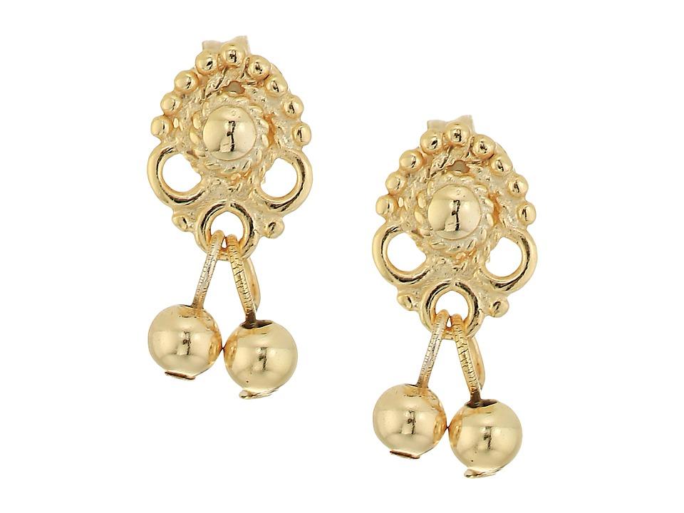 SHASHI - Naya Stud Drop Earrings (Gold) Earring