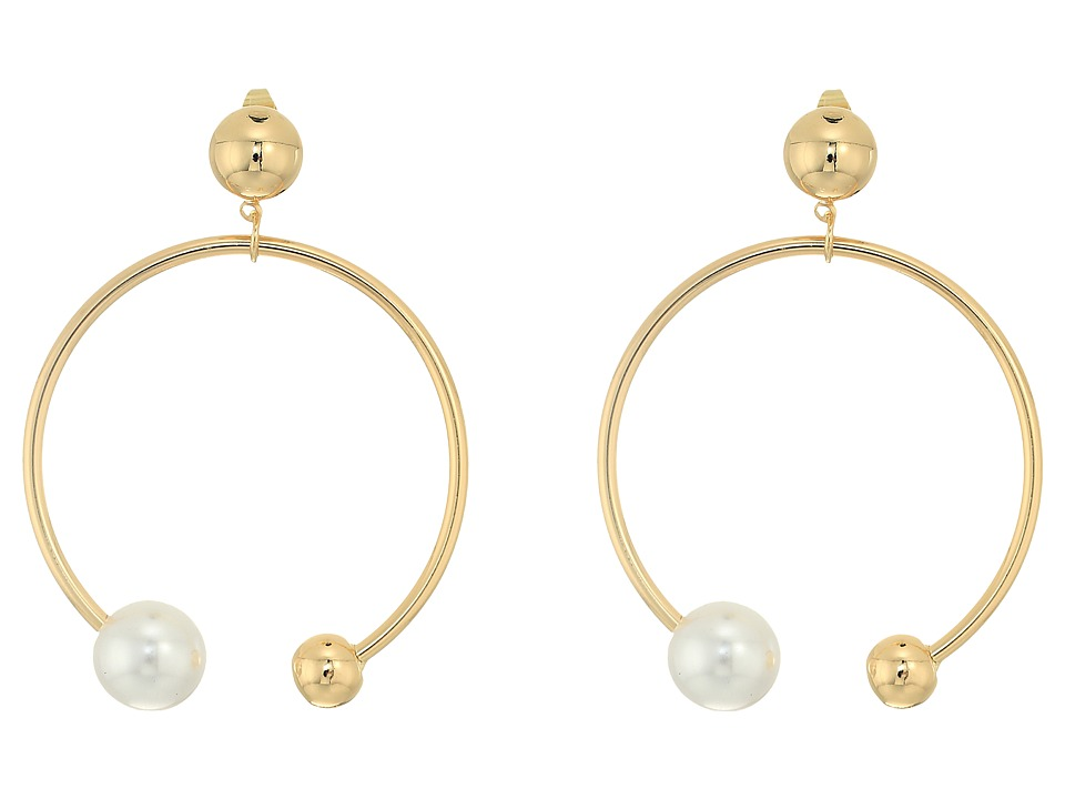 SHASHI - Becca Hoop Earrings (Gold) Earring