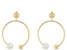 SHASHI Becca Hoop Earrings