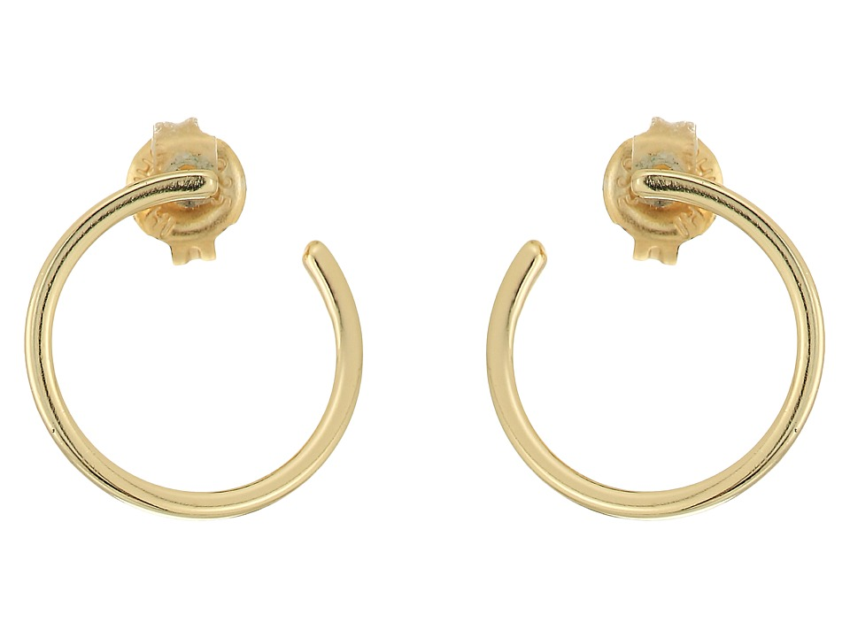 SHASHI - Trish Hoop Earrings (Gold) Earring