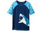 Hatley Kids Shark Alley Short Sleeve Rashguard (Toddler/Little Kids/Big Kids)