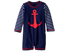 Hatley Kids Sea Anchors Mini Rashguard One-Piece (Infant)